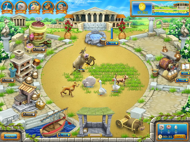 Game Farm Frenzy: Ancient Rome  Games catalogue — Portal2U