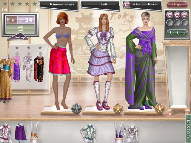 jojo fashion show 3 games free