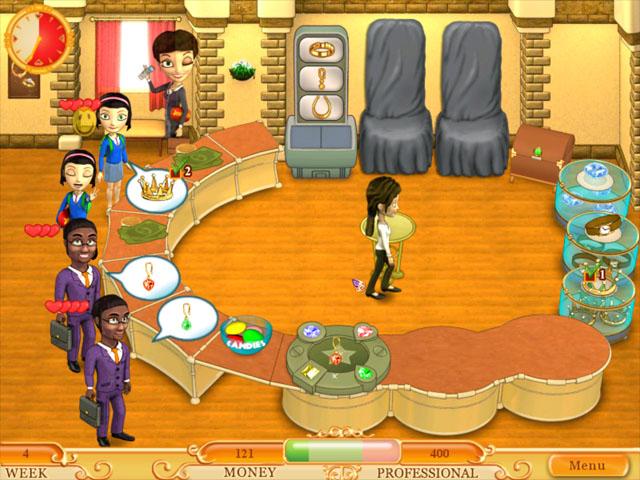 Скриншоты игры Ювелирмания.